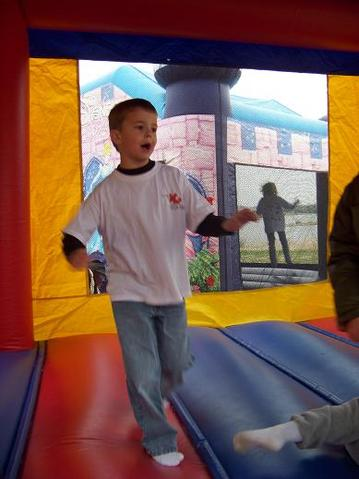 Copy of In the bounce house
