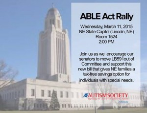 ABLE Act Rally