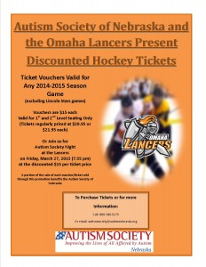 Lancers Ticket Flyer