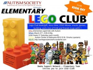 Lego Club Flyer