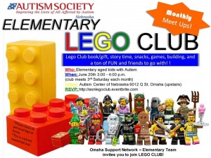 May Lego club