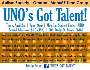 momME UNO fundraiser