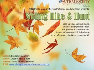 sibling fall event