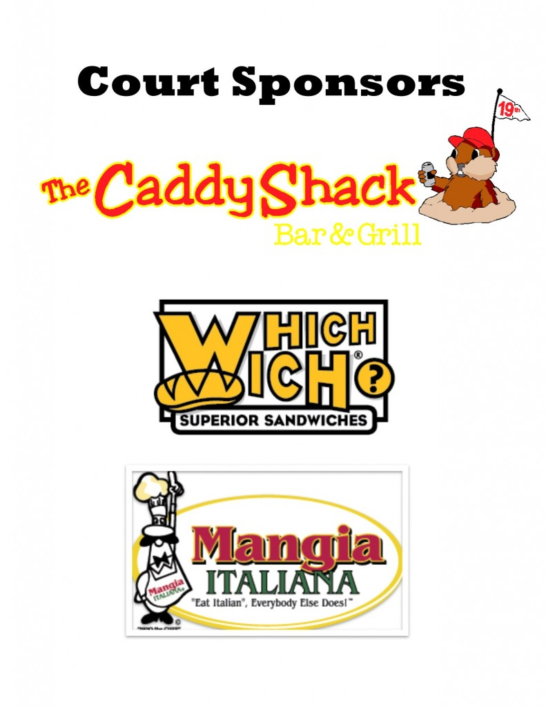 Dodgeball Tournament Sponsor Logo Page