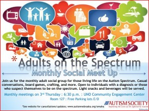 Adults on the Spectrum Flyer-Jan16