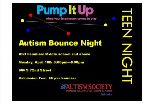 April PIU Teen Bounce Night