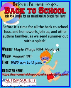 Back to School Pool Party