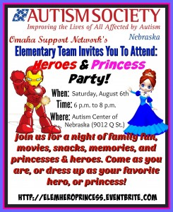 Heroes & princess party