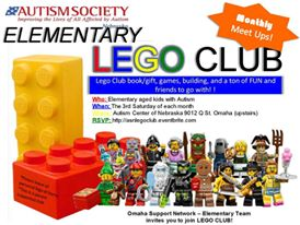 Lego Club Monthly Flyer