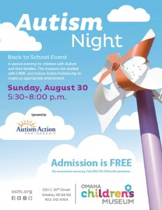 OCM August Autism Night