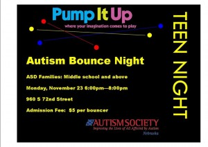 Pump It Up Teen Night