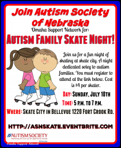 Skate Night Flyer 1