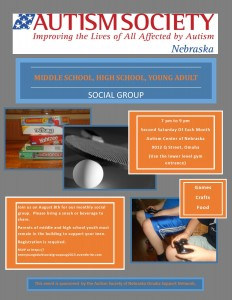 social group flyer August 2015